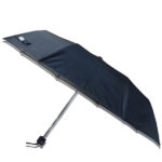 Black Umbrella with Piping