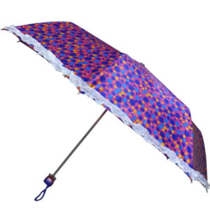 Printed Umbrella with Frill