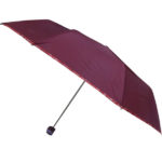 Mono Color Umbrella with Piping