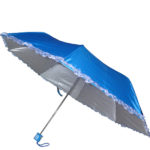 Mono Color Umbrella with Frill