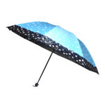 Reversible Umbrella with Netted Border